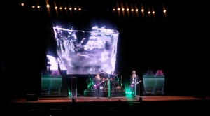 ZZ Top on Stage